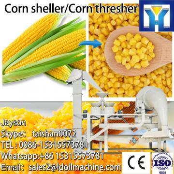 Energy saving electric corn peeler and sheller