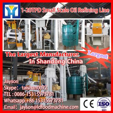 high efficiency small cooking oil refinery machine with deodorization
