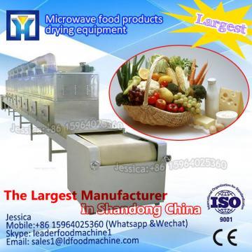 Intelligent continuous microwave food sterilization machine