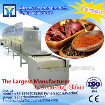 Professional manufacturer tea microwave drying machine/tunnel microwave tea drying machine