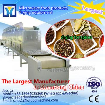 High quality cat feed microwave drying machine/continuous drying machine