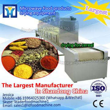 Large input capacity dry Lotus leaf processing plants industrial microwave dryer