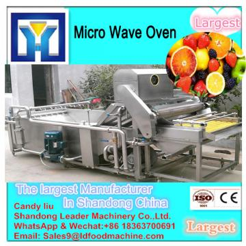 New condition automatic chili microwave drying machine