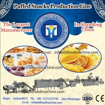 puffed inflating snacks processing