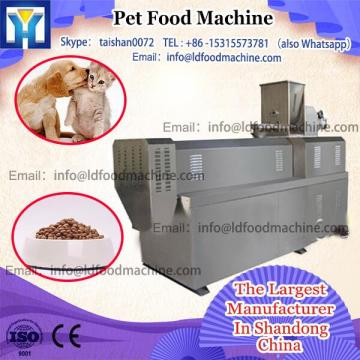 New small scale pet food processing line / pet food extruder machinery with CE