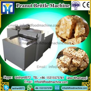 High quality Peanut Brittle candy make Production Line MueLDi Protein Granola Enerable Snack Bar machinery