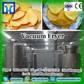 All-in-one continuous machinery of LD deep frying with centrifugal de-oiling for fat reduction