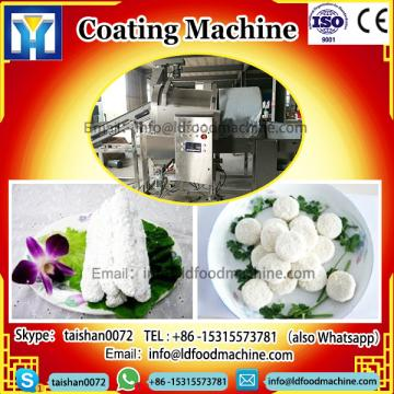European Standard Automatic Patty Drum Preduster And Chicken Nuggets Coating machinery
