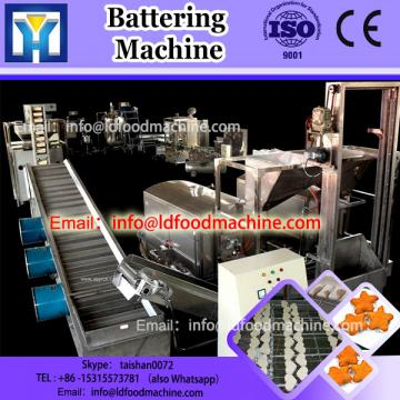 Hamburger Nuggets Battering machinery