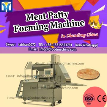 small scale hamburger Patty machinery chicken nuggets make machinery from china supplier