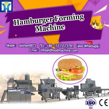 burger forming machinery