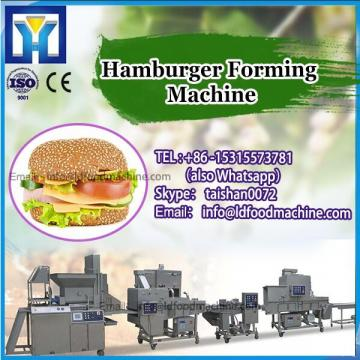 Hamburger forming machinery-Using LD's electrical motor