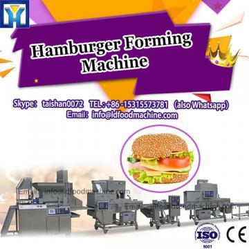 Burger forming machinery