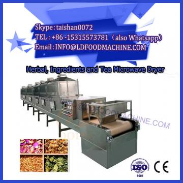 microwave equipment for drying and sterilizing tea powder