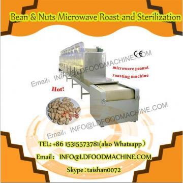 Industrial tunnel microwave seeds/nut roasting machine