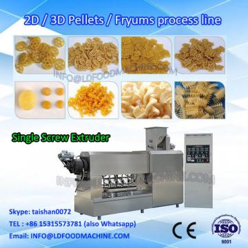 Fully automatic pasta machinery 100kg single screw food extruder