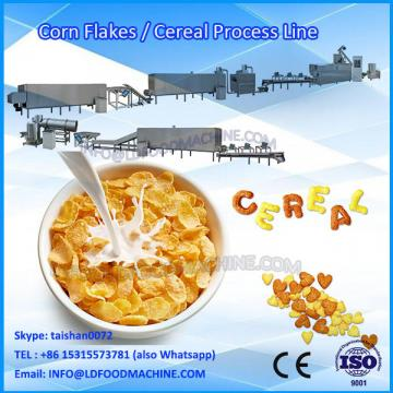 crisp Kellogg's Nestle Corn flakes extruder breakfast Cereals Maker machinery