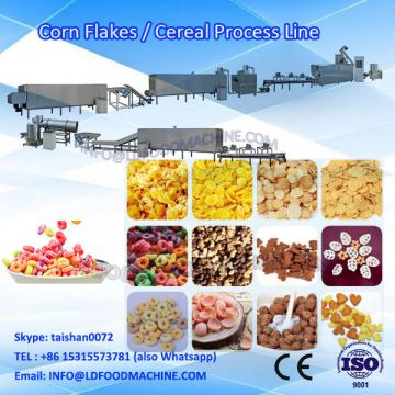 Honey corn flakes breakfast cereal make machinery
