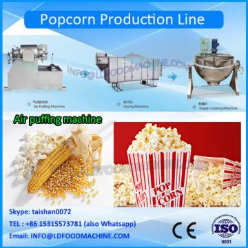 industrial caramel flavouring seasoning popcorn production line machinery