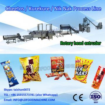 automatic kurkure cheetos nik naks extrrder make machinery production line