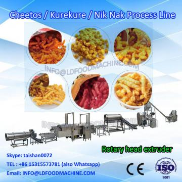 corn curl cheetos nik naks  extruder machinery production line