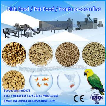 Customized new desity automatic dried pet dog food extruder machinery production line