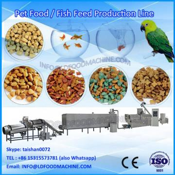 High quality automatic extruded pet chewing  production line/chews pet food machinery