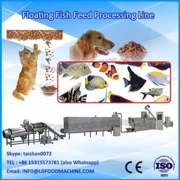 China auto pet food Extrusion machinery/floating fish feed extruder