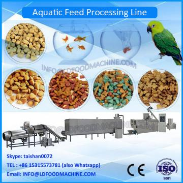 Aquarium fish food processing machinery /granular machinery for feed fish / fish feed plant