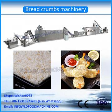 Fully Automatic Bread Crumbs make machinery For Frying Chicken Shrimp With White And LD Color
