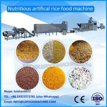 Reinforced man made extruding rice make machinery