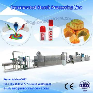 Low cost stainless steel modified starch processing line