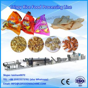 Automatic Extruded Fried Wheat Flour Snacks crisp Chips production line