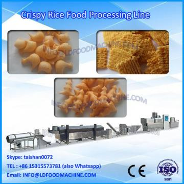 stainless steel twin screw extruder fried dough machinery