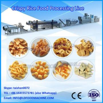 Extruded Fried Wheat Pellets Bugles make machinery