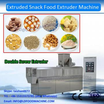 high quaLDiy corn snack extruder/double screw extruder machinery for snack