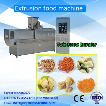 Corn snacks food extruder, corn  processing line, puffed corn snacks make machinery