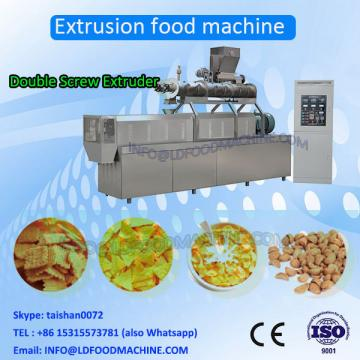 extruded fried wheat corn rice flour chips process line