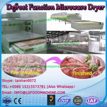 Dehydrator Defrost Function type continuous belt microwave conveyor dryer for shrimp shell