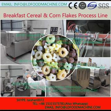 hot sale corn flakes extruder/breakfast cereal snack machinery