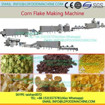 Corn flakes hot air puffing roaster Extruder machinery