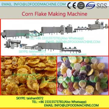 2017 new desity stainless steel double screw extruder for cornflakes
