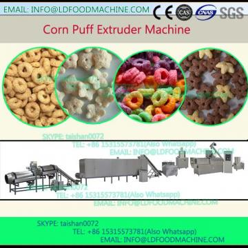 grains puffy snacks processing line/extruder/maker/machinery/plant