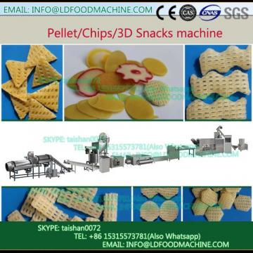 stainless steel high quality potato snacks machinery
