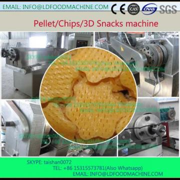 Manufactory CE full automatic 3D Pani puri food make machinery/ Snack make plant