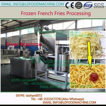 automatic frozen french fries processing line 500 kg/h