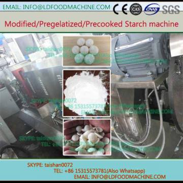 Pregelatinized modified tapioca corn starch extruder processing plant