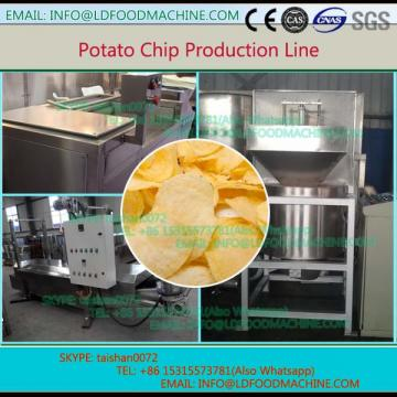 250 Kg per hour easy operation French fries make machinery