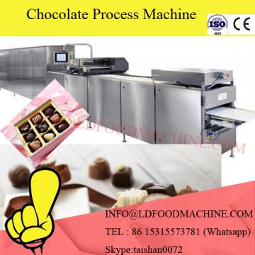 High Efficiency Chocolate Coating machinery Enrobed For Snack