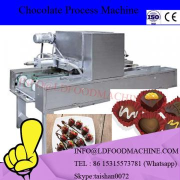 Factory price automatic small chocolate coating glaze machinery